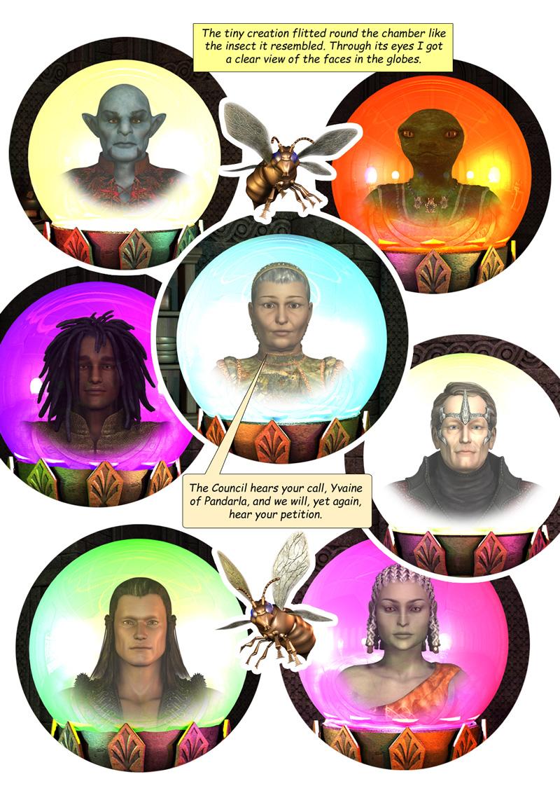The Council assembled